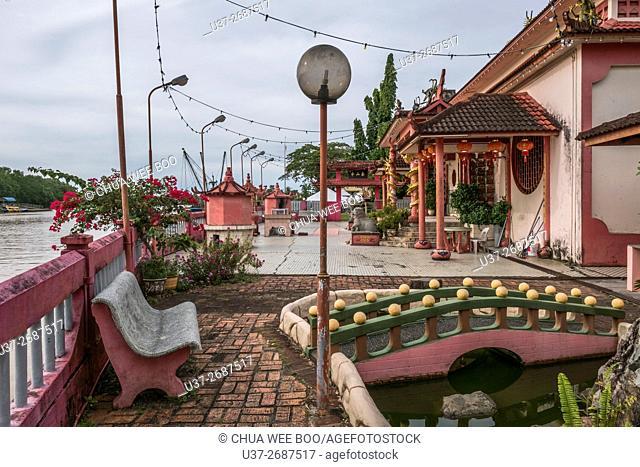 Chinese Temple, Mukah, Sarawak, Malaysia