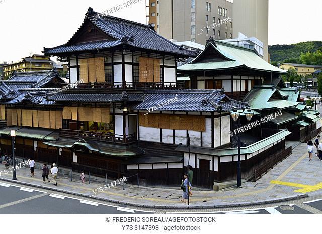 Dogo onsen in Matsuyama, Japan, Asia