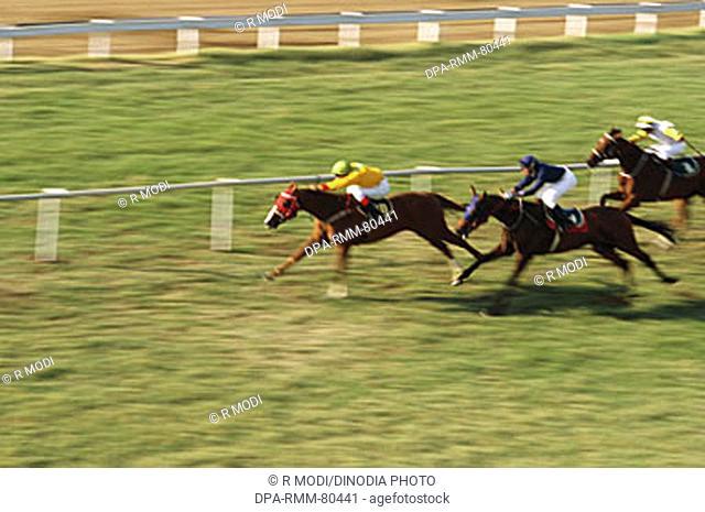 Horse Racing , Mahalaxmi , Mumbai bombay , maharashtra , India