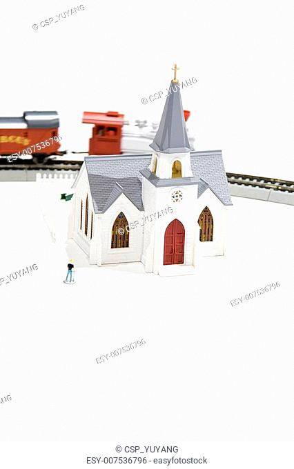 Toy house train
