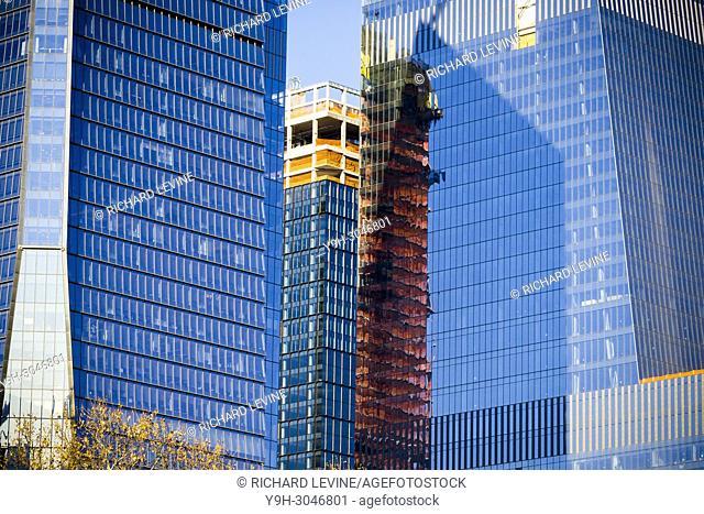 Hudson Yards development in New York on Thursday, December 21, 2017
