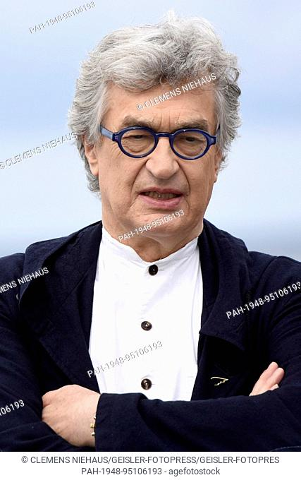 Wim Wenders at the 'Submergence' photocall during 65th San Sebastian Film Festival at Kursaal on September 22, 2017 in San Sebastian, Spain