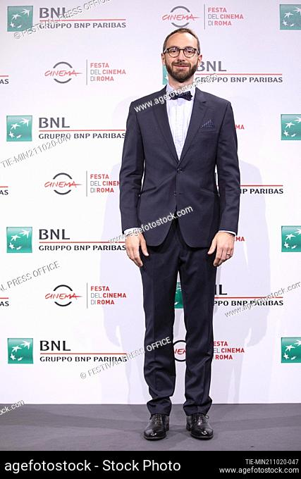 Tomas Srovnal during the photocall of movie' Francesco' at the 15th Rome Film Festival, Rome, ITALY-21-10.-2020