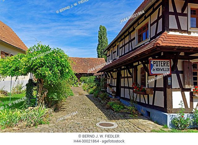 Gebäude, historisch, Poterie, Töpferei