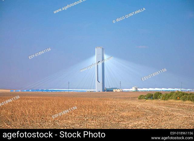sanlucar solar power station