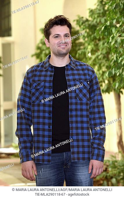 Frank Matano during the photocall of film Sono tornato, Rome, ITALY-29-01-2018