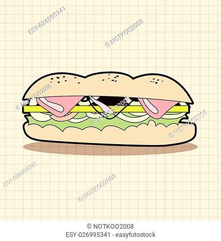 hamburger theme elements vector,eps