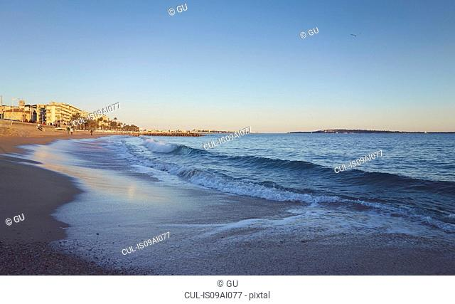 Beach, French Riviera, Cannes, France