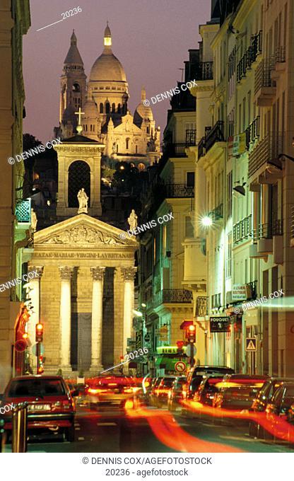 Notre Dame de Lorette. Paris. France