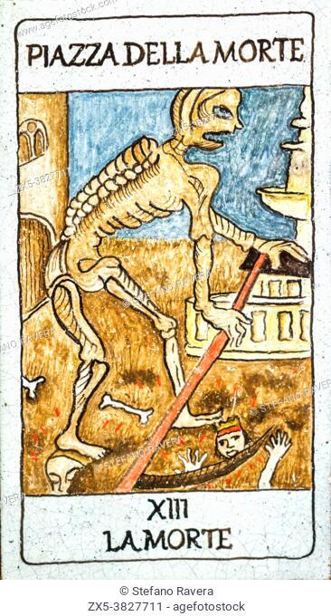 Death, Medieval tarot cards