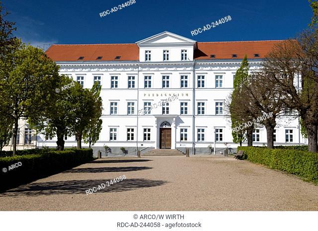IT College Putbus Isle of Rugen Mecklenburg-Western Pomerania Germany Rügen