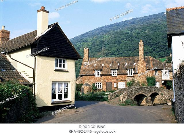 Allerford, Exmoor, Somerset, England, United Kingdom, Europe
