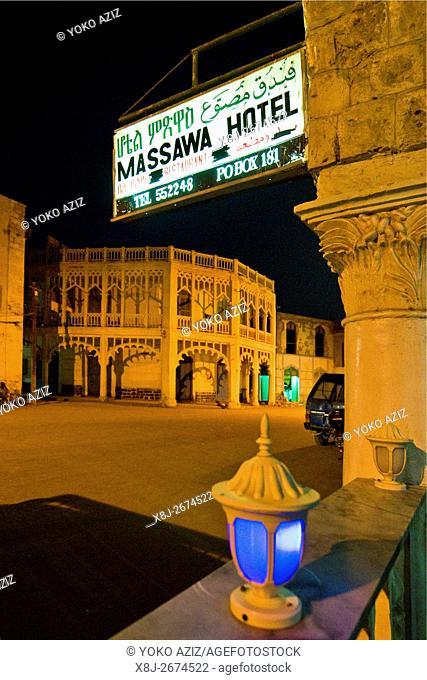 Massawa hotel, Massawa, Eritrea