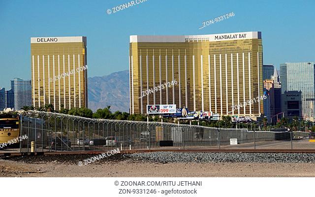 Mandalay Bay Hotel and Casino in Las Vegas, Nevada (USA)