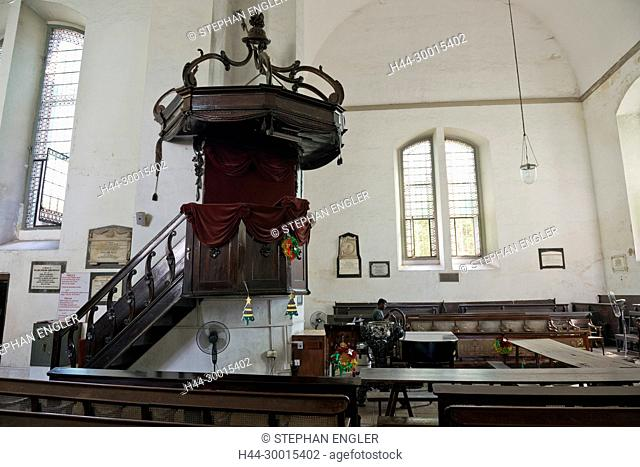 Sri Lanka, Colombo, Asia, capital, Wolvendaal Church