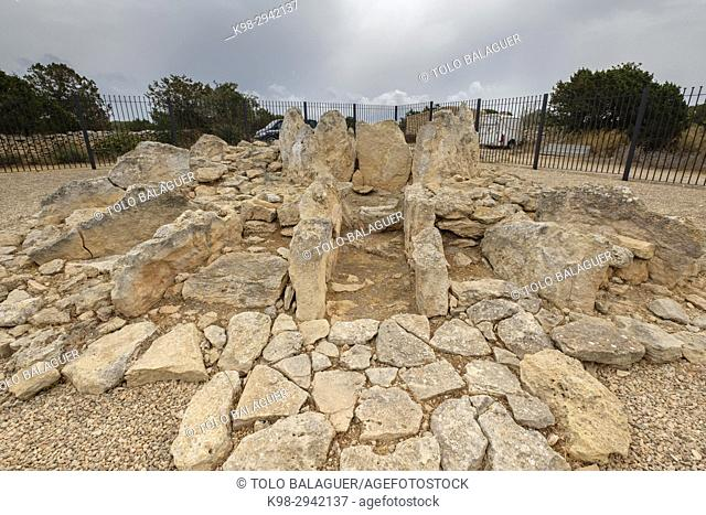 Megalithic monument , Ca Na Costa , 2. 000 - 1. 600 aC. a, Early Bronze Age, Formentera, Balearic Islands, Spain