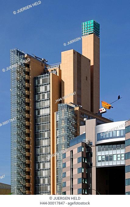 Germany, Berlin, Berlin Mitte, Potsdamer Platz, Daimer Chrysler Areal, modern architekture by Renzo Piano