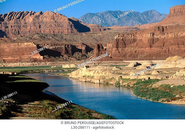 Glen Canyon and Colorado River. Utah, USA