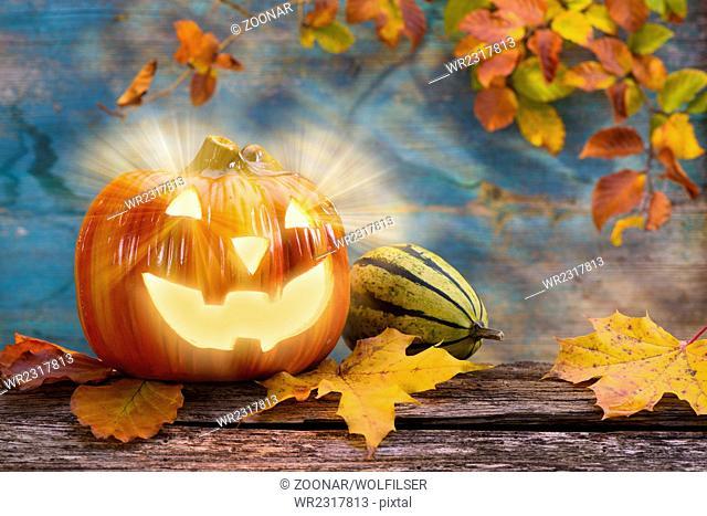 Halloween with pumpkin