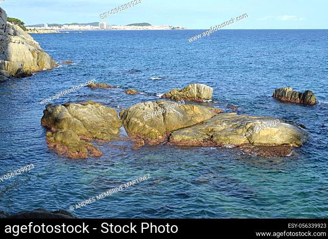 Coves and Beaches in Playa de Aro, Gerona Spain