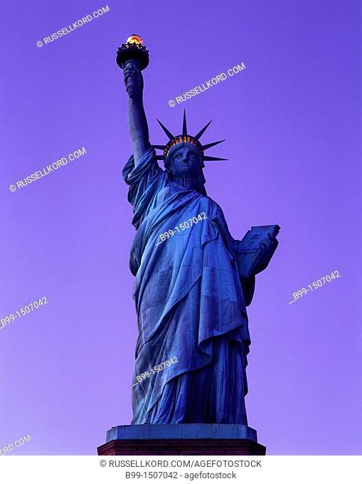 Statue Of Liberty National Monument Liberty Island New York Harbor New York City USA