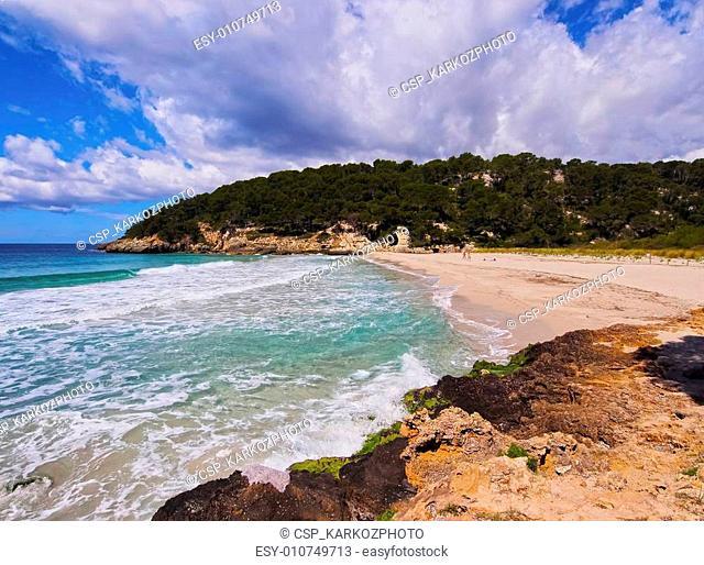 Trebaluger Bay on Minorca