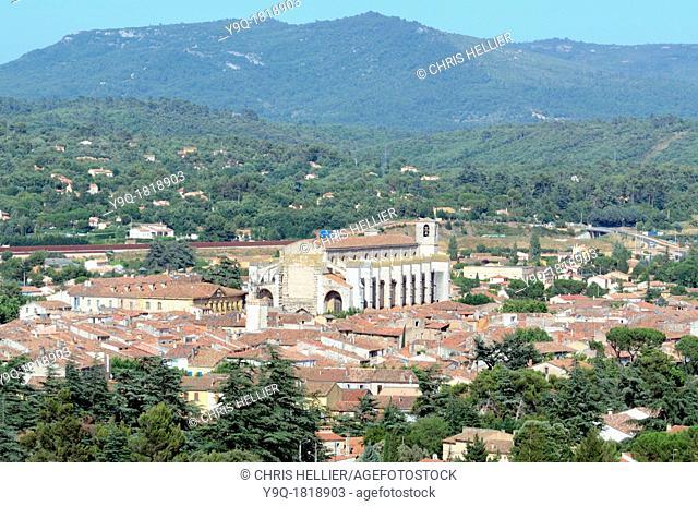 Basilica of Mary Magdalene Saint-Maximin-la-Sainte-Baume Var Provence France