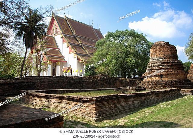 Wat Phra Si Sanphet, Ayutthaya, Thailand, Asia, South est Asia