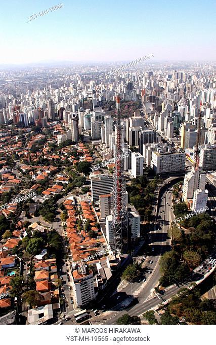Rebouças Avenue, Consolação Avenue, São Paulo, Brazil