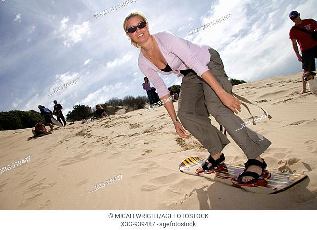 Sandboarding remains a big activity in South Africa