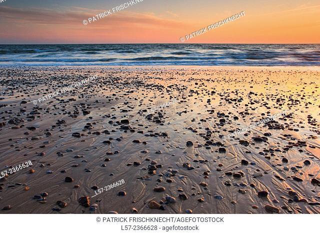 coast on north sea, Germany