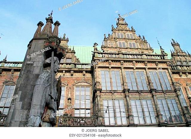 Das alte Rathaus in Bremen
