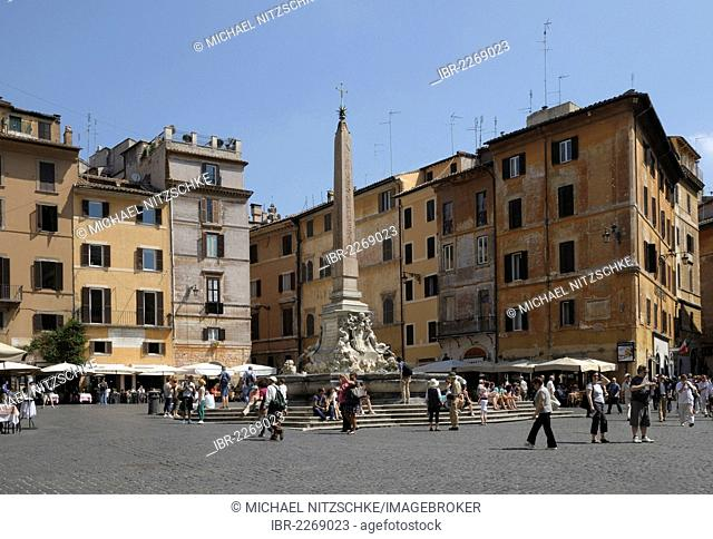 Piazza della Rotonda, Rome, Italy, Europe