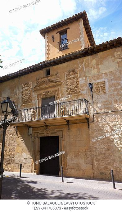 Quintanar de la Orden by Saint James Way in Spain Toledo at Camino de Santiago