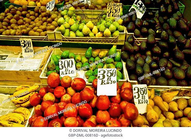 Cardonal Market, Barrio de Amendral, Valparaiso, Chile