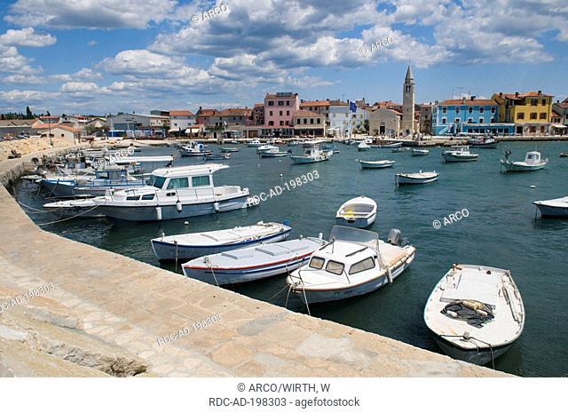 Fishing harbour, Fazana, Istria, Croatia