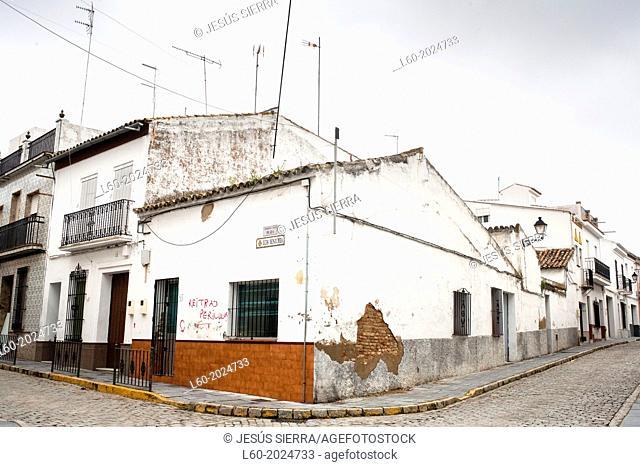 Street in Almonte, Huelva, Andalucia, Spain, Europe