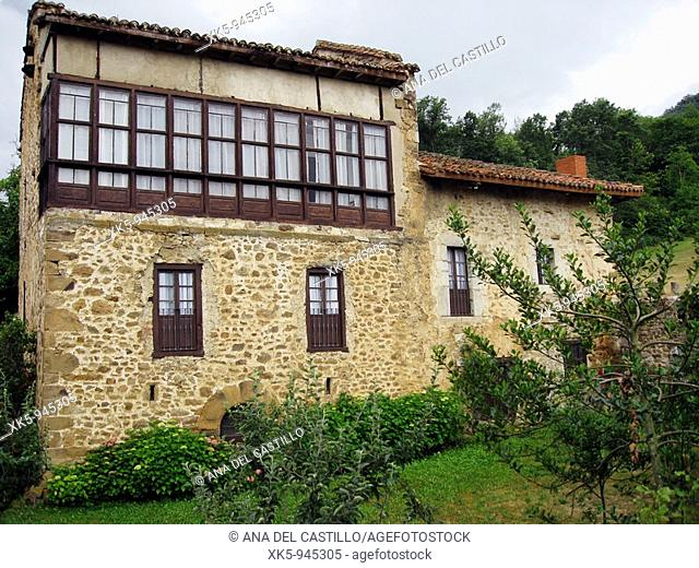 State-run Tourist hotel of Fuente De, Santander province, Cantabria, Spain