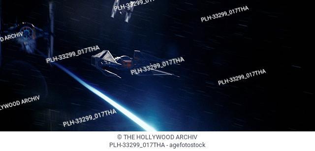 "Kylo Ren's TIE Silence""""Star Wars: The Last Jedi"""" (2017) Lucasfilm Ltd"