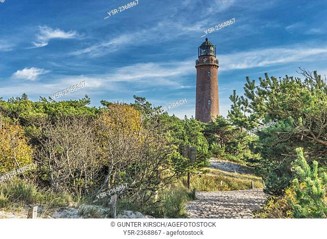 The lighthouse Darsser Ort is located in the northwest of the peninsula Fischland-Darss-Zingst on the Baltic Sea. The lighthouse was put into operation on 1...
