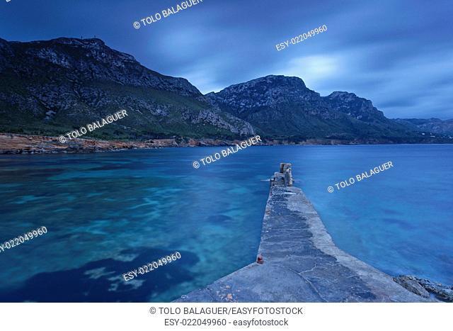 Es Caló. Litoral de la Colonia de Sant Pere. Bahia de Alcudia. Península de Llevant. Arta. Majorca, Balearic Islands, Spain