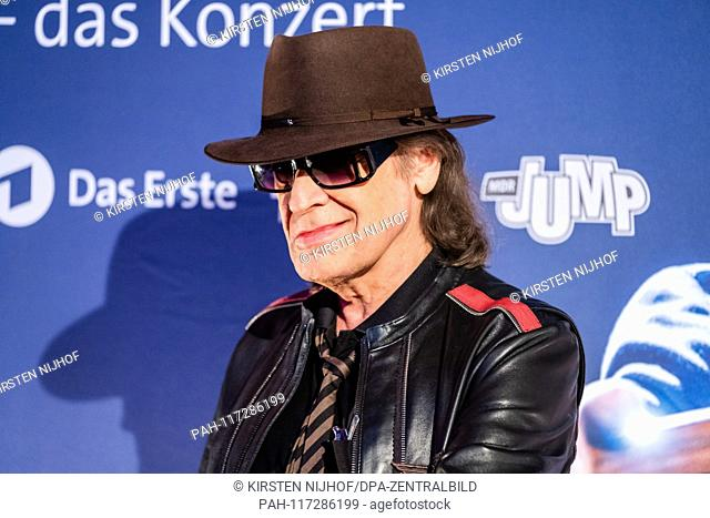 """Rock musician Udo Lindenberg on the verge of a preview of two new MDR productions  € œUdo Lindenberg A """"""""Full speed ahead! Encounters on the Lindian Ocean € œ..."""