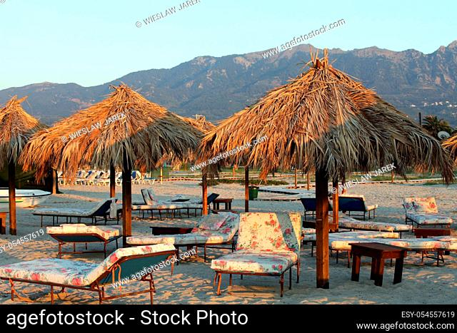 Greece. Kos island. Tigaki beach