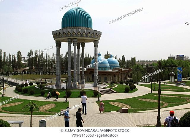 Tashkent, Uzbekistan - April 25, 2015: Memorial complex of victims of Stalin's repression. One of the famous landmark in the city that attracts tourists