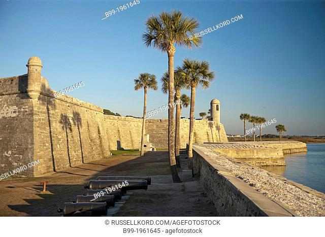 Castillo De San Marcos National Monument Saint Augustine Florida