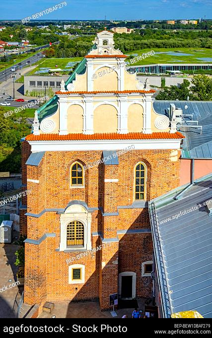 Lublin, Lubelskie / Poland - 2019/08/18: Holy Trinity Chapel within the medieval Lublin Castle royal fortress in historic quarter