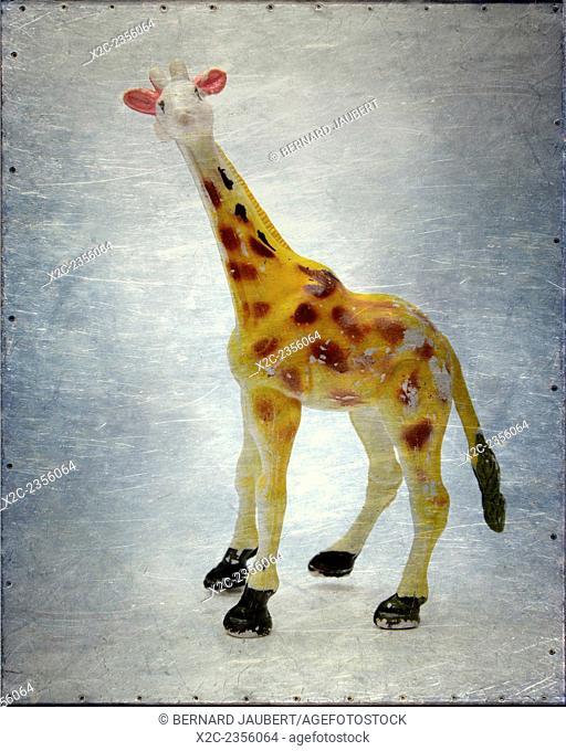 Giraffe toy figure