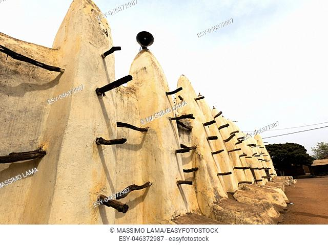 The grand Mosque in Bobo-Dioulasso Burkina Faso