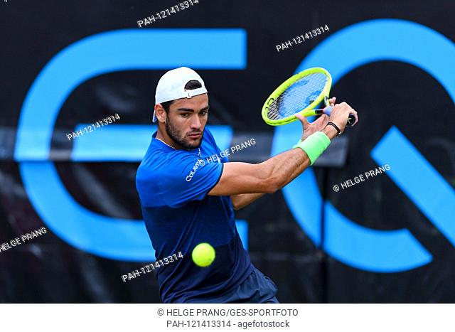 Final: winner Matteo Berrettini (ITA). GES / Tennis / ATP Tour 250: MercedesCup 2019, 16.06.2019 Tennis ATP Tour 250: MercedesCup 2019, Stuttgart