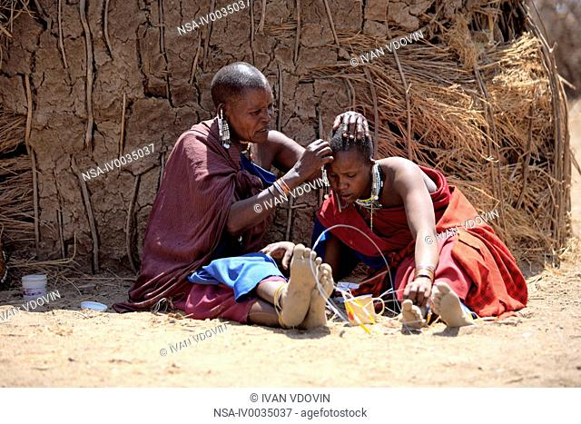 Maasai people, Maasai Village, Tanzania